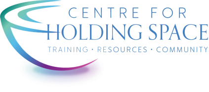 Centre for Holding Space rainbow bowl logo
