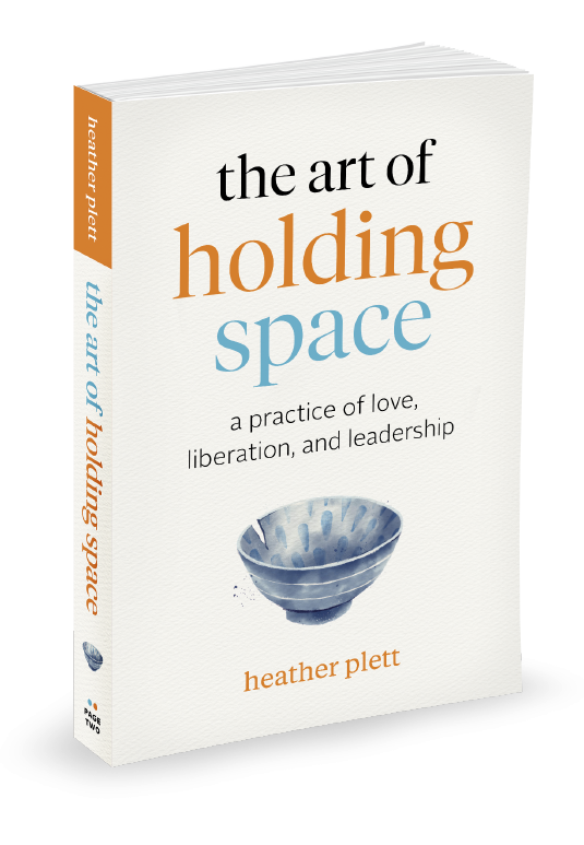 The Art of Holding Space book cover