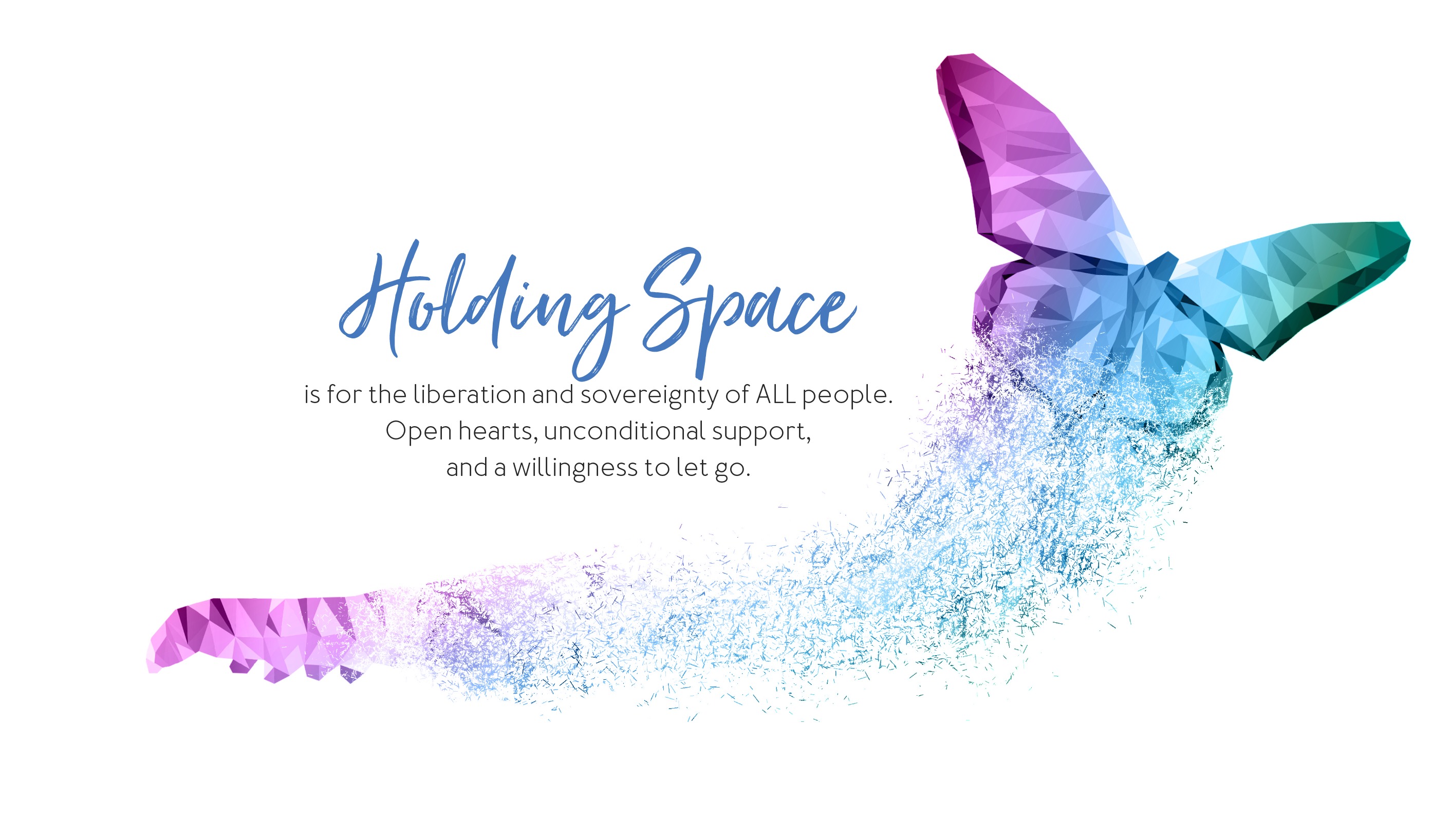 Centre for Holding Space header image