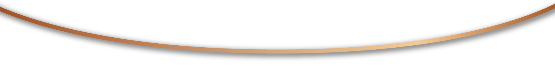 Gold curved line